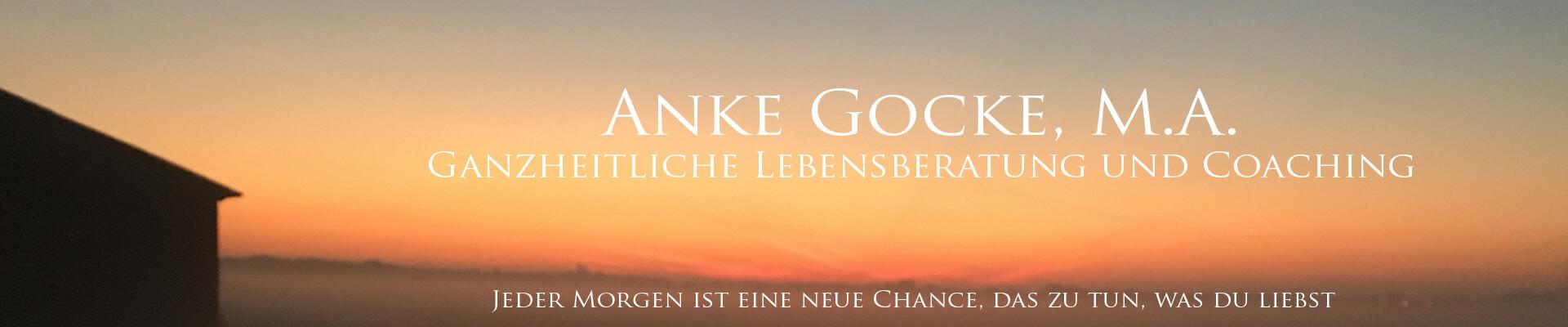 Anke Gocke Ganzheitliche Lebensberatung und Coaching